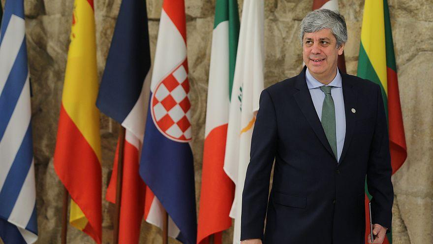 Le président de l'Eurogroupe Mario Centeno