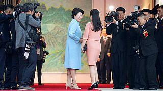 A dalostorkú koreai First Lady-k