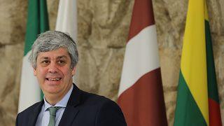 Mario Centeno portugál pénzügyminiszter, az eurócsoport elnöke