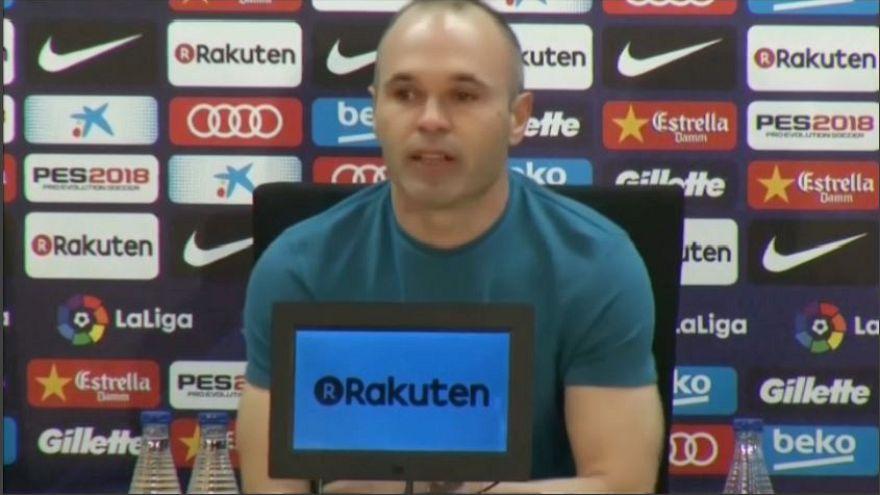 Don Andrés saluta il Barcellona