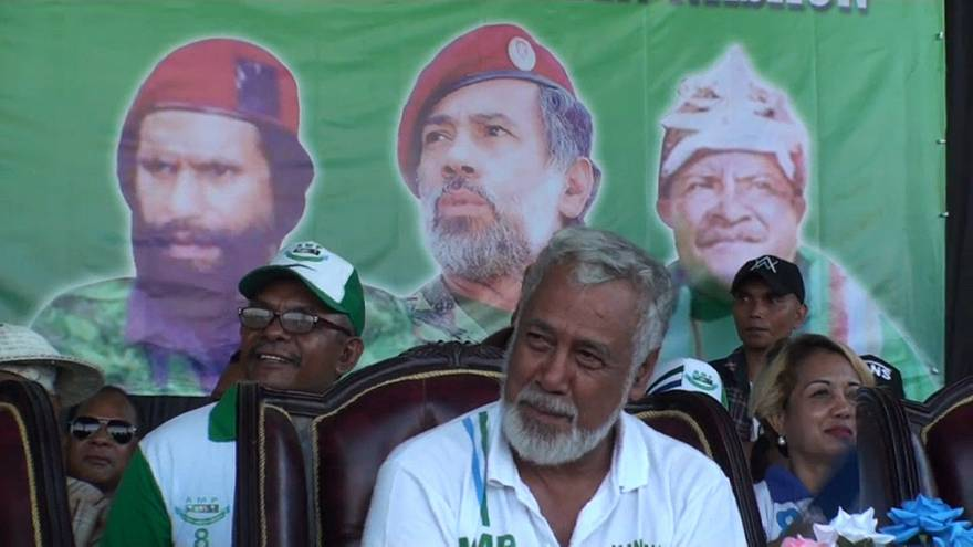 Xanana Gusmão lidera oposição na campanha para as legislativas