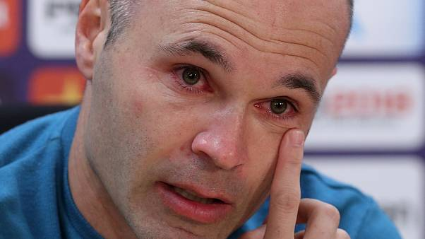 Andres Iniesta to leave Barcelona at the end of the season