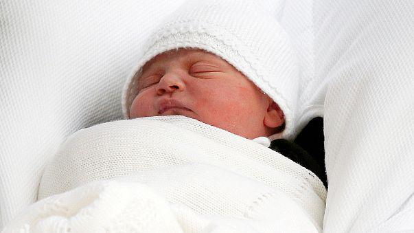 """Le """"royal baby"""" s'appelle Louis"""