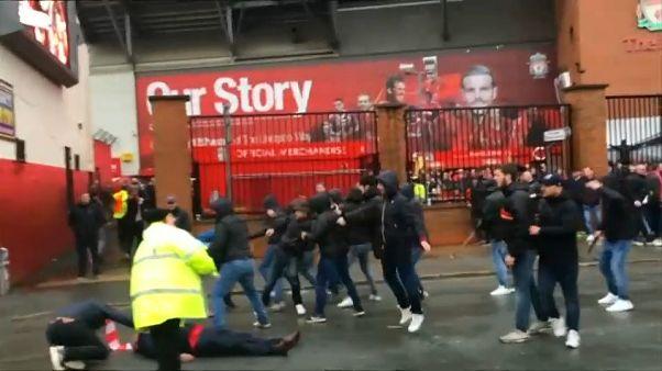 Amplio despliegue de seguridad para el Roma-Liverpool