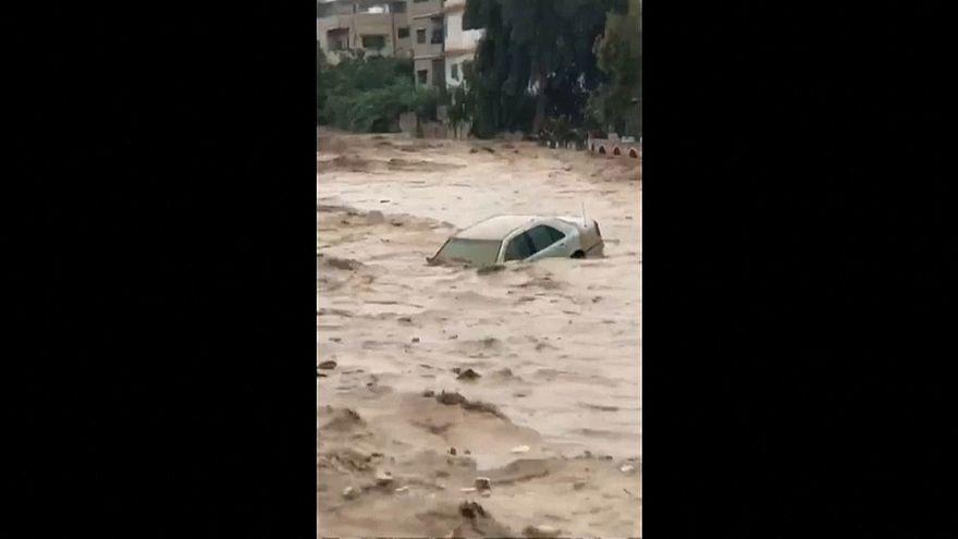 Наводнение в Иордании