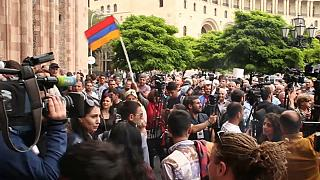 Armenia: Las movilizaciones salen de la capital