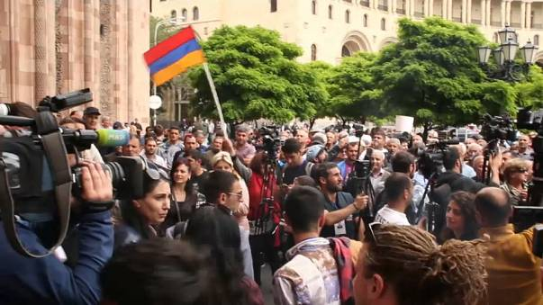 Armenia: Las movilizaciones salen de la capital