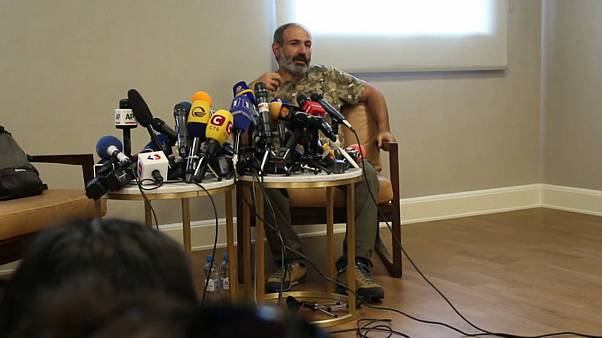 Nikol Pashinyan, leader dell'opposizione armena