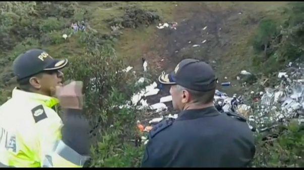 Colombian plane crash in November 2016