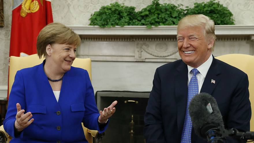 Watch again: Trump and Merkel hold joint press conference