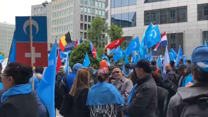 Уйгуры просят о помощи ЕС