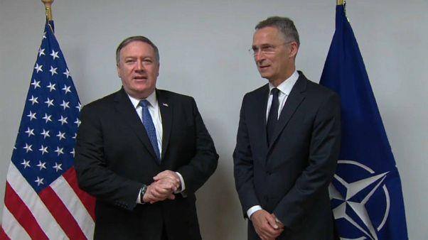 Mike Pompeo a Bruxelles per il summit Nato
