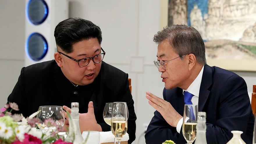 بالفيديو: الكوريتان تتوافقان على العمل لنزع السلاح النووي من شبه الجزيرة