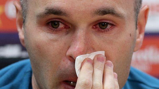 Andrés Iniesta confirma o adeus ao clube onde ganhou tudo