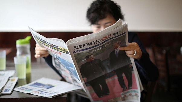 A koreai kézfogás háttere