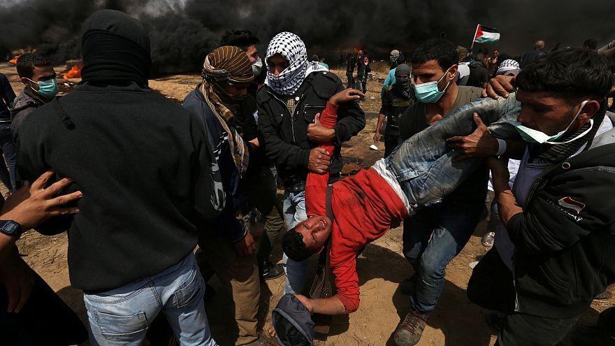 İsrail askeri ateş açtı, 3 Filistinli gösterici öldü