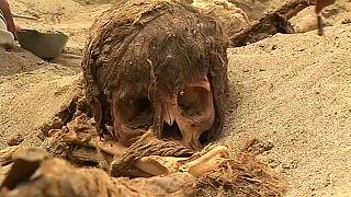کشف بقایای اجساد ۱۴۰ کودک در پرو