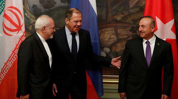 Εγγυήτριες για την ειρηνευτική διαδικασία στη Συρία δηλώνουν Ρωσία, Ιράν, Τουρκία