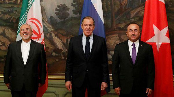 ظریف در نشست مسکو: آمریکا باید برای تخریب منطقه پاسخگو باشد