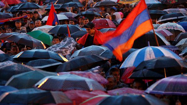 Αποστολή του ελληνικού euronews: Διαδηλώσεις και εκτός Ερεβάν