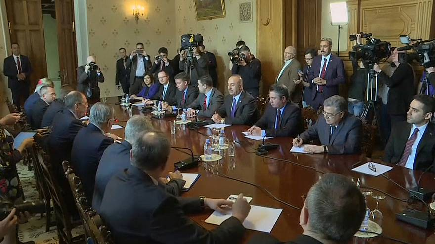 Russia, Iran and Turkey commit to political solution in Syria