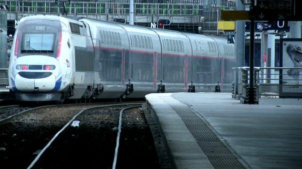 Comienza la sexta fase de huelga del sistema ferroviario francés