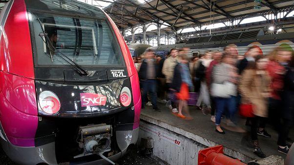 Προβλήματα στις μετακινήσεις από την απεργία των Γαλλικών Σιδηροδρόμων