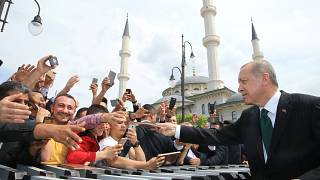 Эрдоган начинает избирательную кампанию