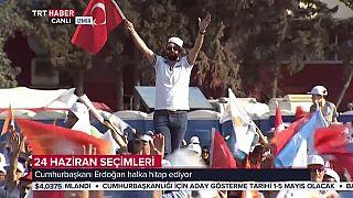 Erdogan launches his election campaign