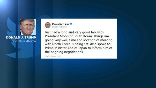 Trump: Kuzey Kore ile görüşmek için hazırlıklar yapılıyor