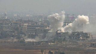 الجيش السوري يشدد من ضرباته ضد داعش بجنوب دمشق