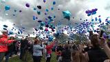 Alfie Evans: Thousands of balloons released in tribute to toddler