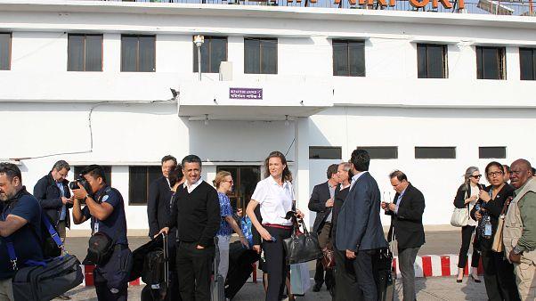 Visita oficial del Consejo de Seguridad de la ONU en Birmania y Bangladés