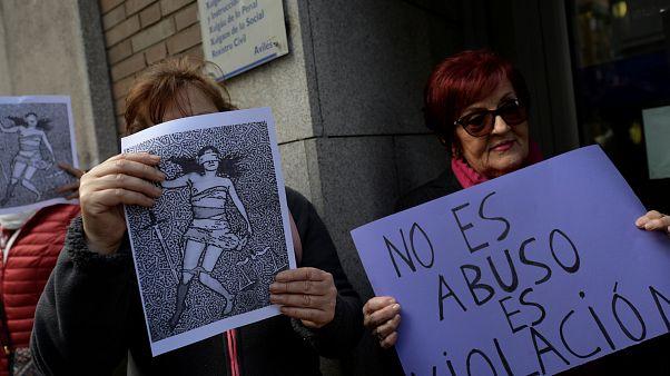 """""""C'est un viol !"""" : le cri espagnol"""