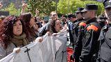 İspanya'da 'tecavüze indirimli ceza' öfkesi dinmiyor