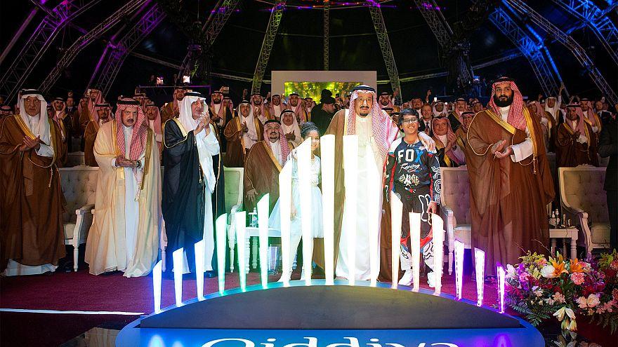 السعودية تدشن مشروع القدية السياحي والترفيهي بمليارات الدولارات