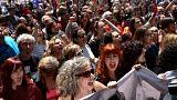 Ισπανία: Διαδηλώσεις για την αθώωση των «βιαστών» 18χρονης