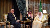 وزير الخارجية الأمريكي يلتقي العاهل السعودي ويشدد على أهمية الوحدة الخليجية