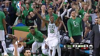 Boston Celtics crush Milwaukee Bucks