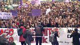 سومین روز اعتراضات سراسری اسپانیا؛ انتقاد به حکم دادگاه برای تجاوز گروهی