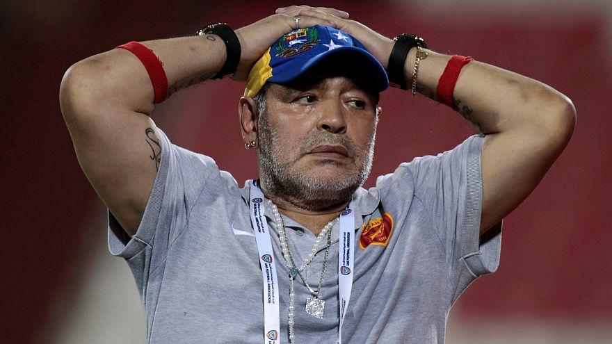Maradona als Trainer gefeuert