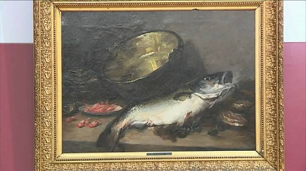 Gefälschte Kunst im französischen Museum