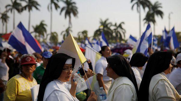 Los nicaragüenses católicos piden paz, justicia y la salida de Daniel Ortega