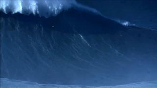 """""""Besta"""" do mar da Nazaré vale novo recorde do Guinness"""