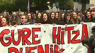 مظاهرات حاشدة في إسبانيا