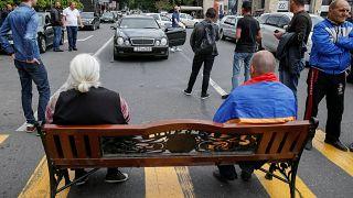 Arménia sai para as ruas em apoio a Pashinyan