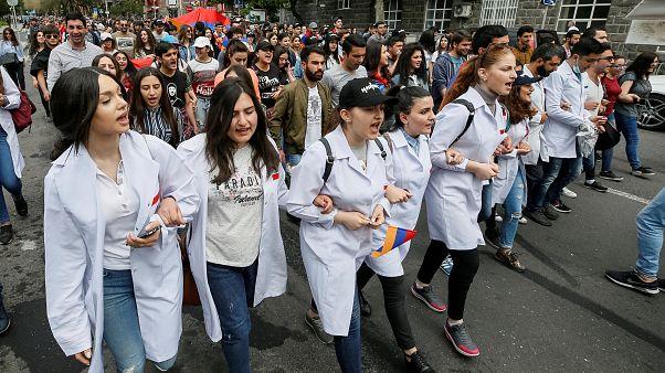 Arménie : un vent de changement