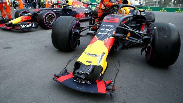 Formula 1 Azerbaycan GP'de klasmanı değiştiren kaza