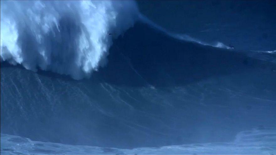 24-Meter-Welle: Neuer Surf-Weltrekord aufgestellt