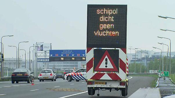 Amsterdam : l'aéroport Schiphol fermé pendant une heure